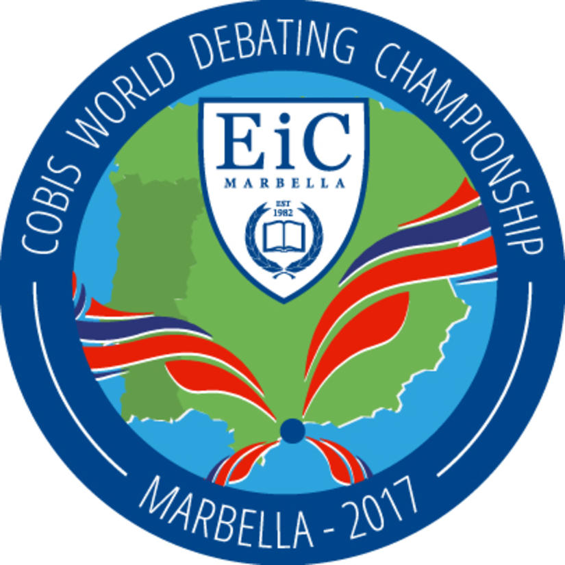 The Winning Logo for the COBIS World Debating Champions