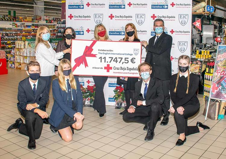 EIC Smashes Red Cross Fund Raising Record!