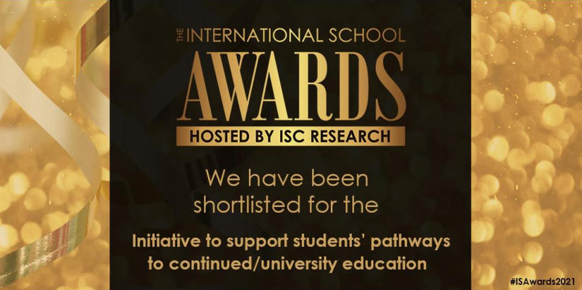 EIC has been shortlisted for the 2021 International Schools Awards