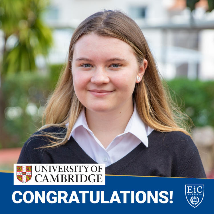 Congratulations to Summer for securing her place at Cambridge University